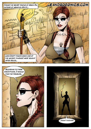 Tomb Raider- The Pyramids of Egypt