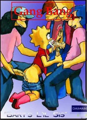 Simpsons – Bart's Lil' sis