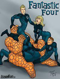 Iceman Blue- Fantastic Four
