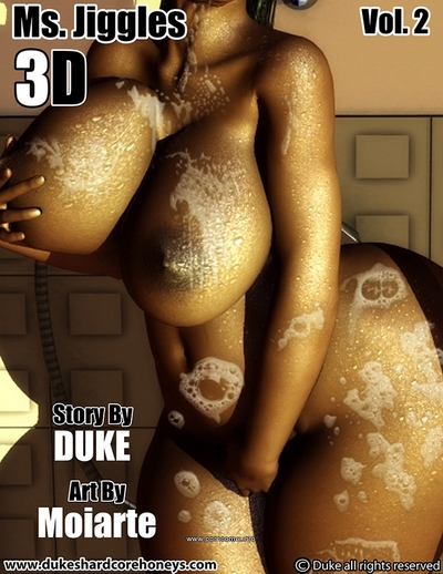Ms Jiggles 3D - Part 2- Duke Honey