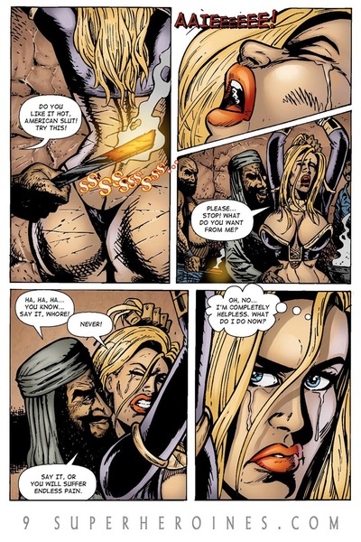 Sahara vs the Taliban 2- 9SH - part 2