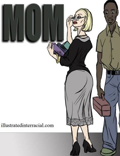 Mom- illustrated interracial