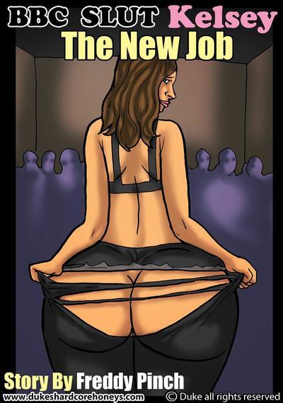 BBC Slut Kelsey 2 -New Job