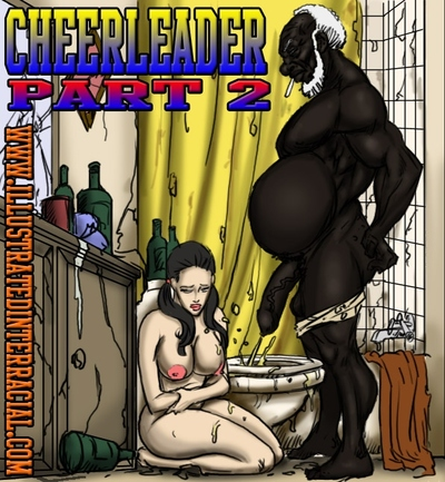 Cheerleader 2- illustrated interracial