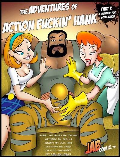 Jab Comix - Adventures of Action Fuckin