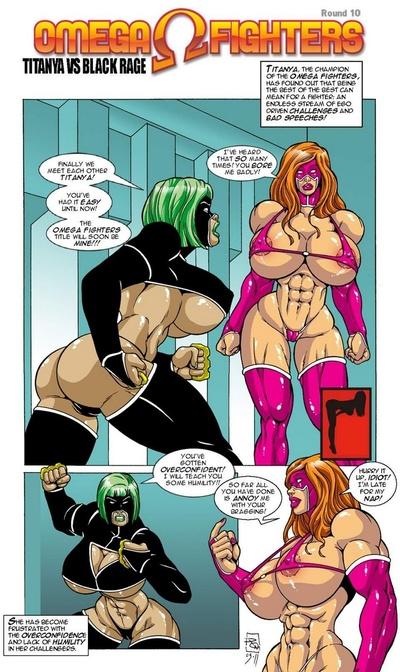Omega Fighters 10 - Titanya vs Black Ragch