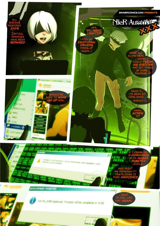 Nier Automata Xxx nier- automata xxx at x sex comics