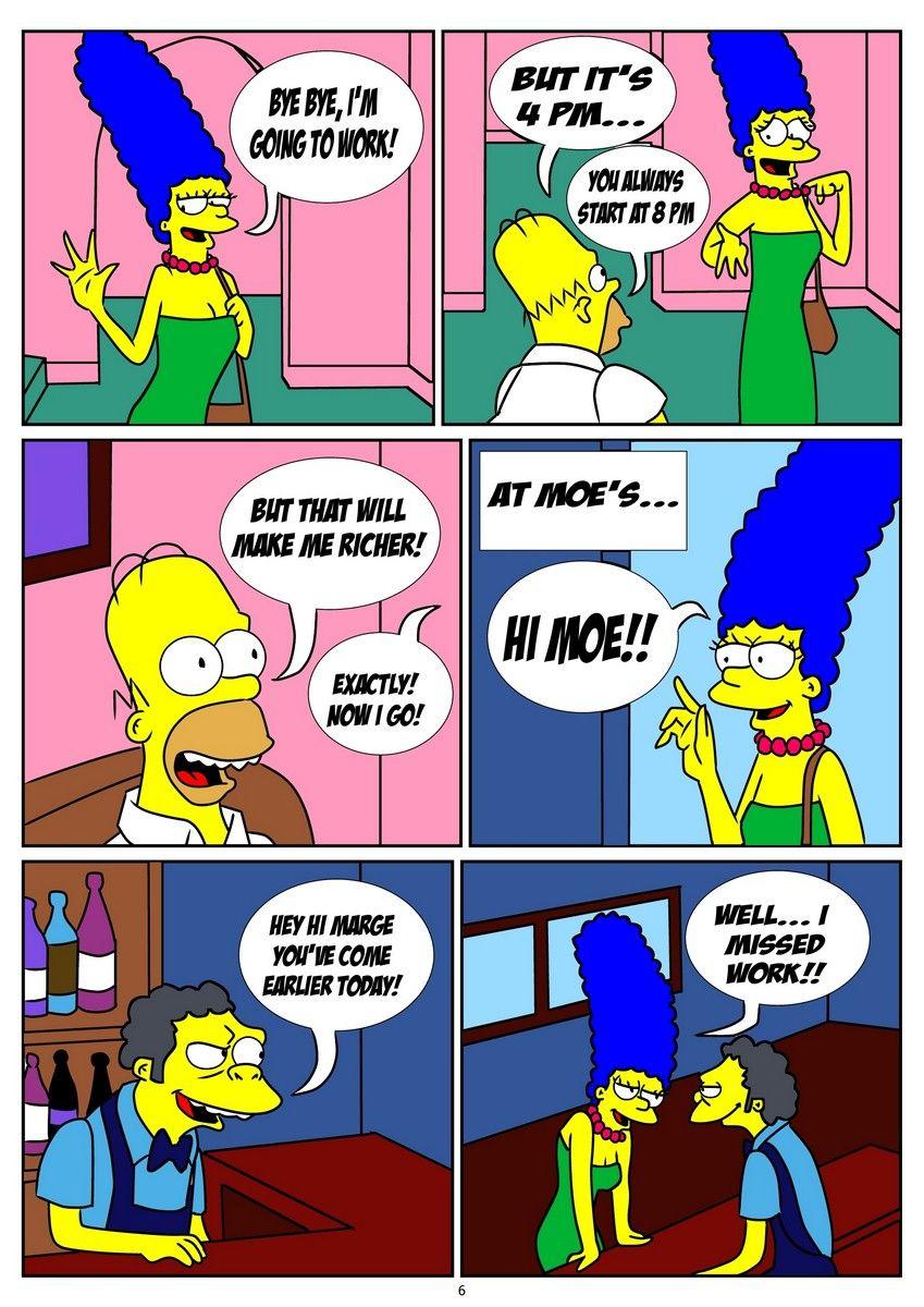 Bart simpsons und marge nackt Bart Simpson