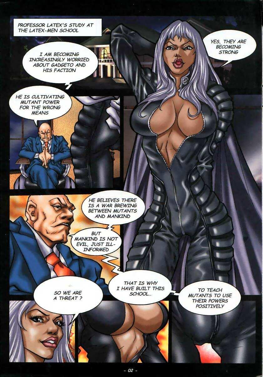 X-Men Storm Hentai