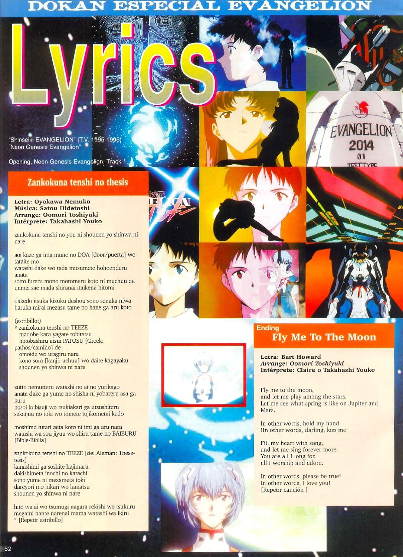 Revista Dokan Evangelion - affixing 4