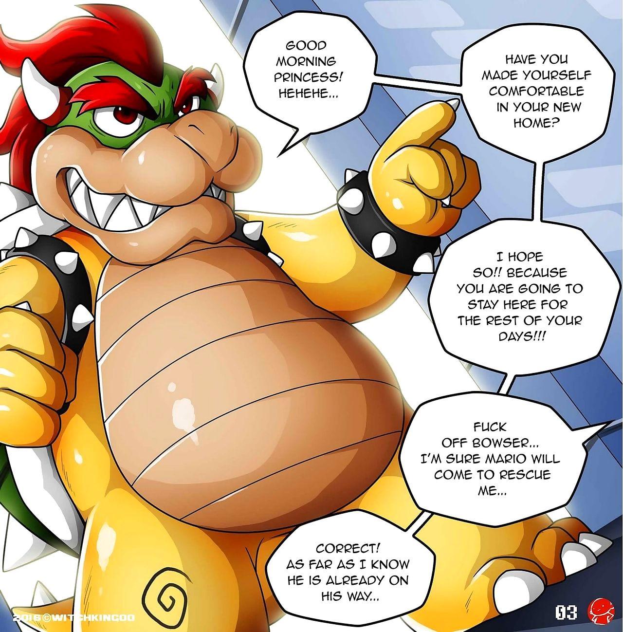 Promote Me Mario! Dramatize expunge Prequel
