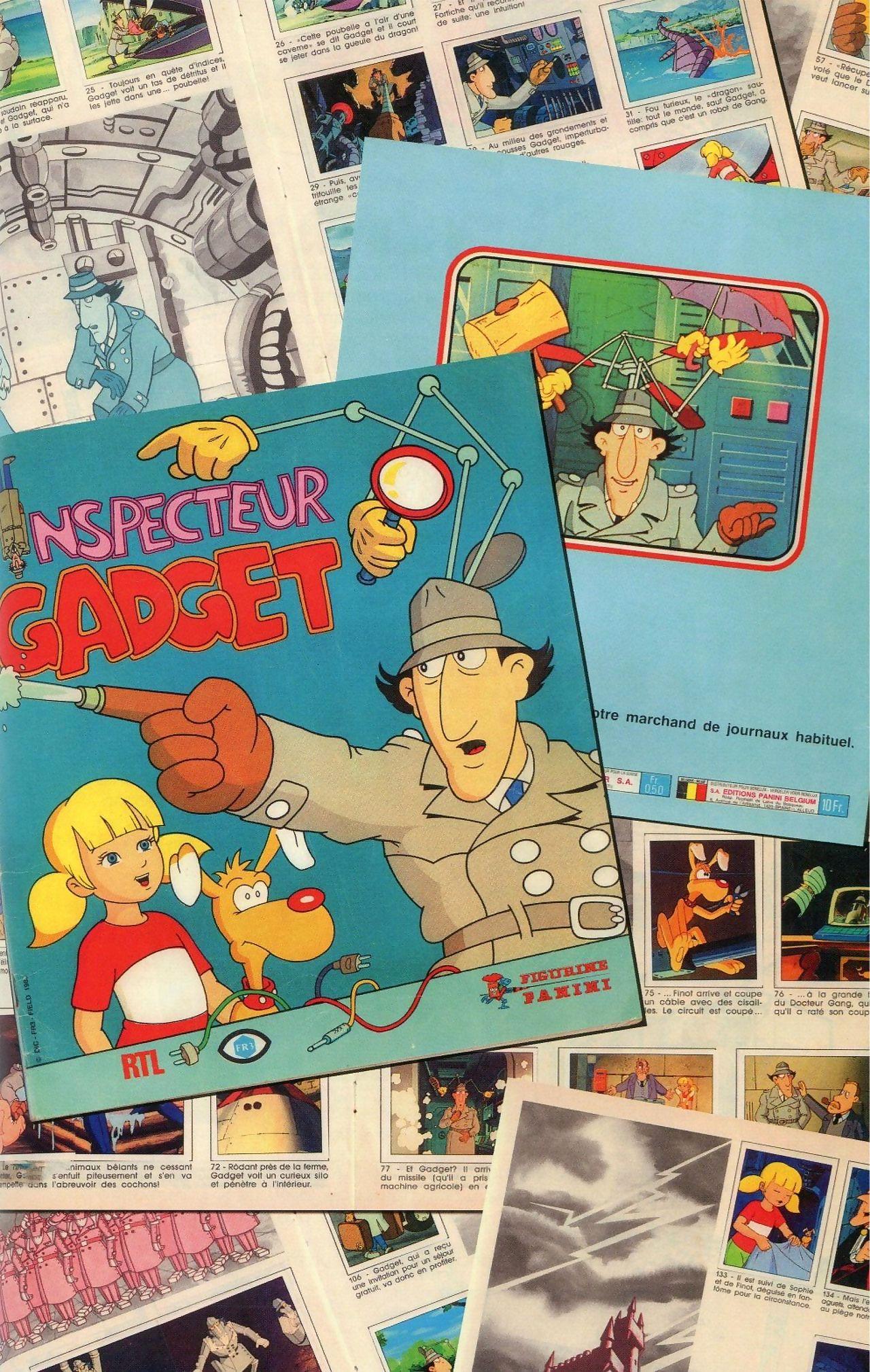 Inspector Gear Artbook - attaching 11
