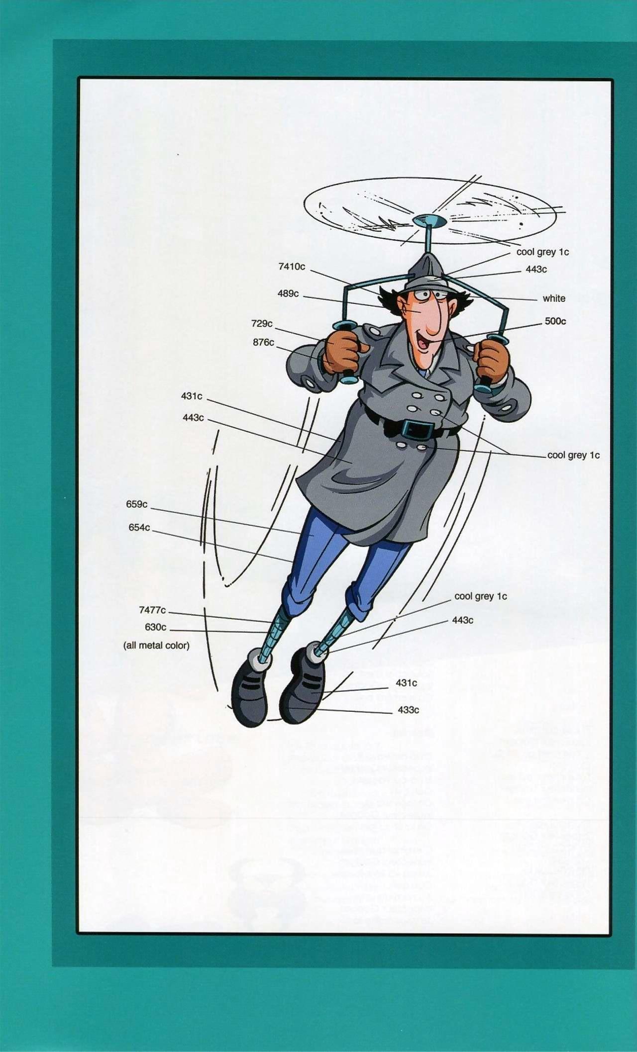 Inspector Equipment Artbook - affixing 2
