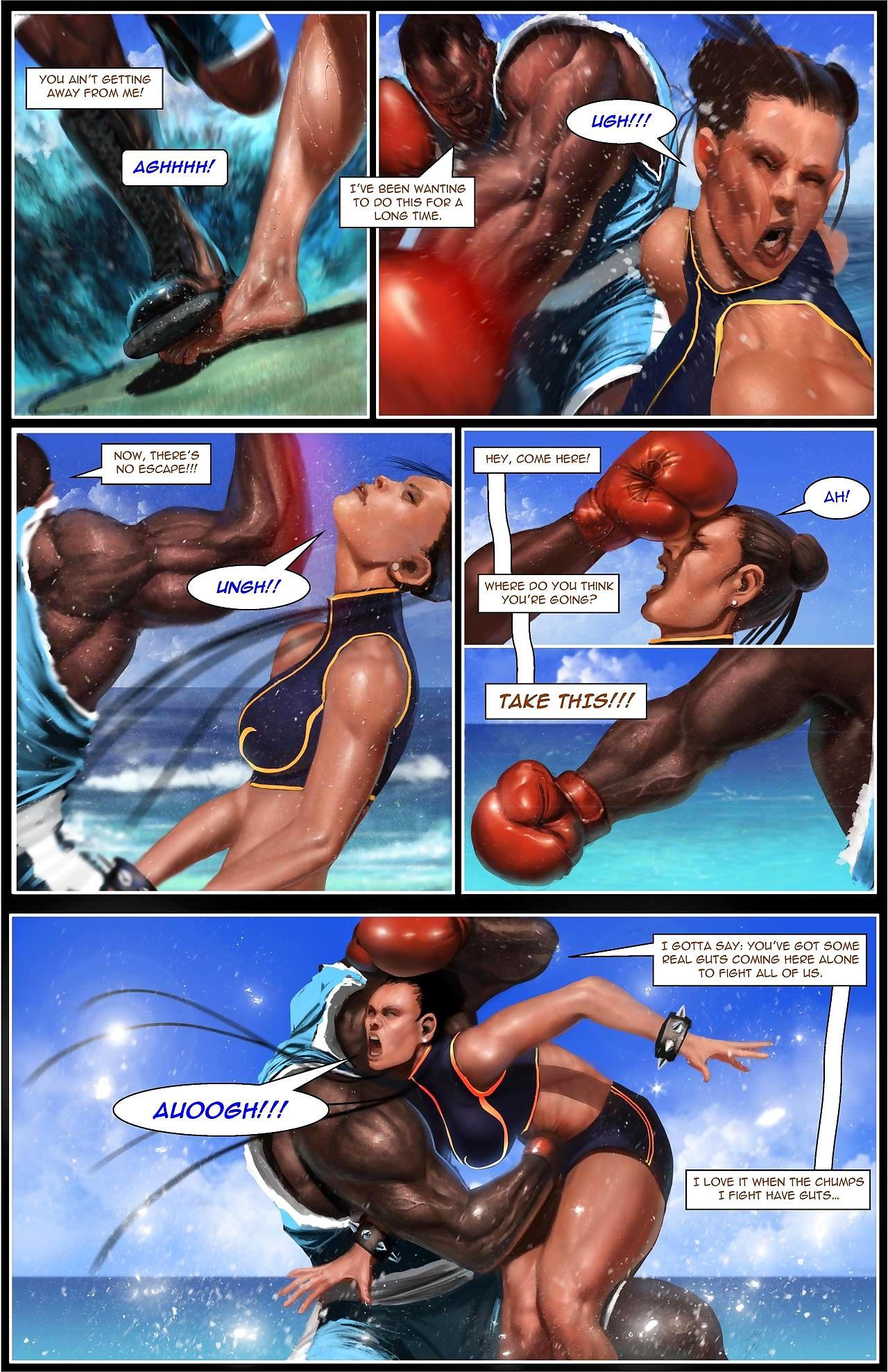 Chun-Li: A catch Gauntlet - fastening 2