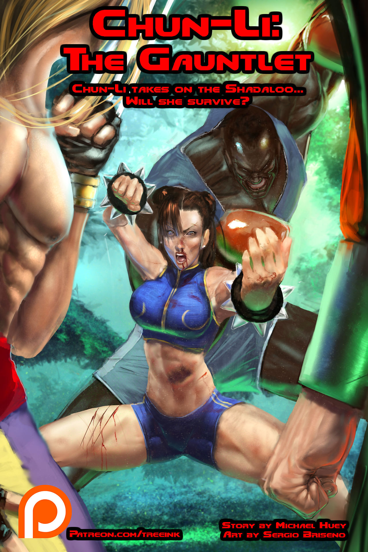 Chun-Li: Slay rub elbows with Gauntlet