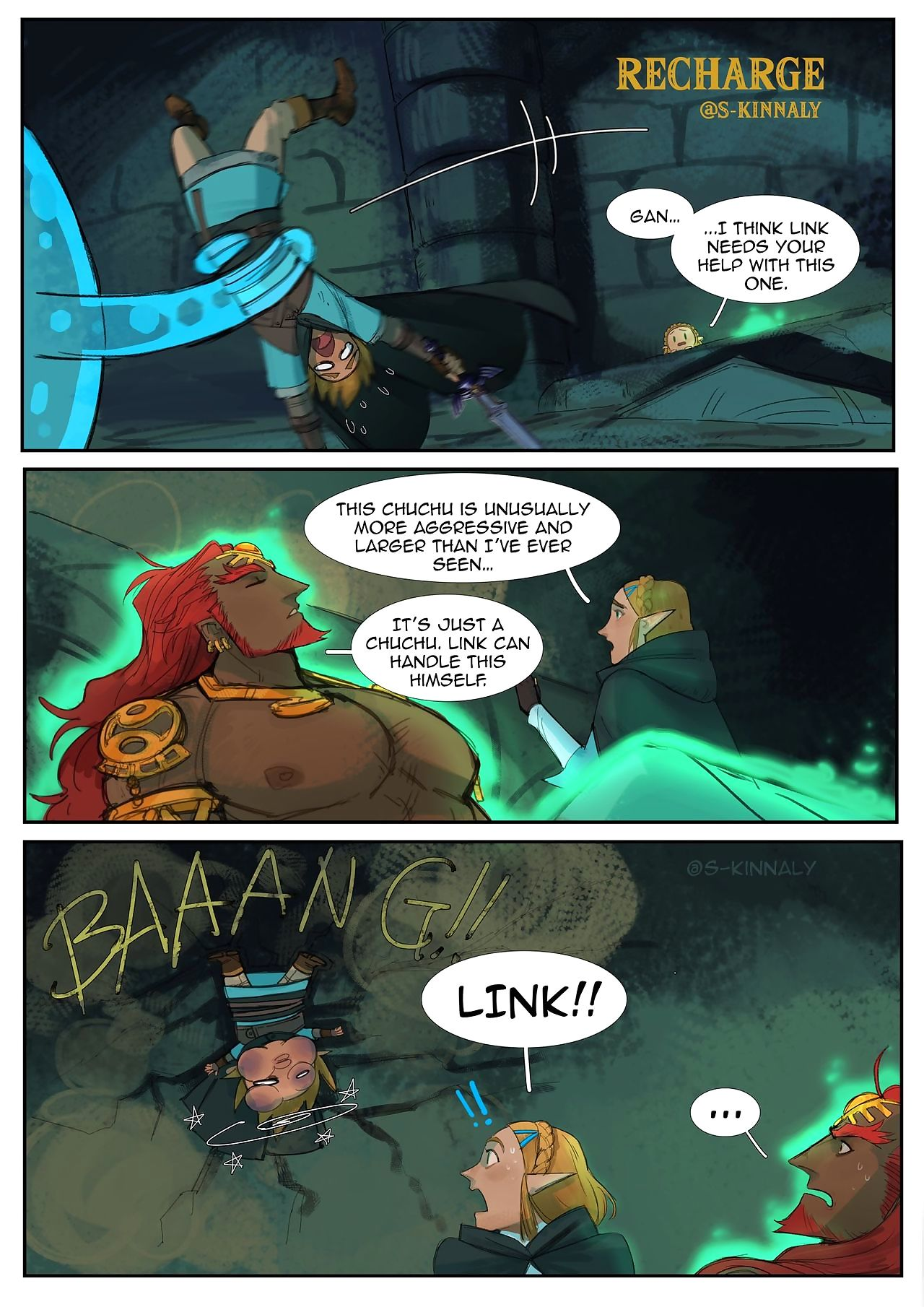 Zelda BOTW2 comics - faithfulness 2