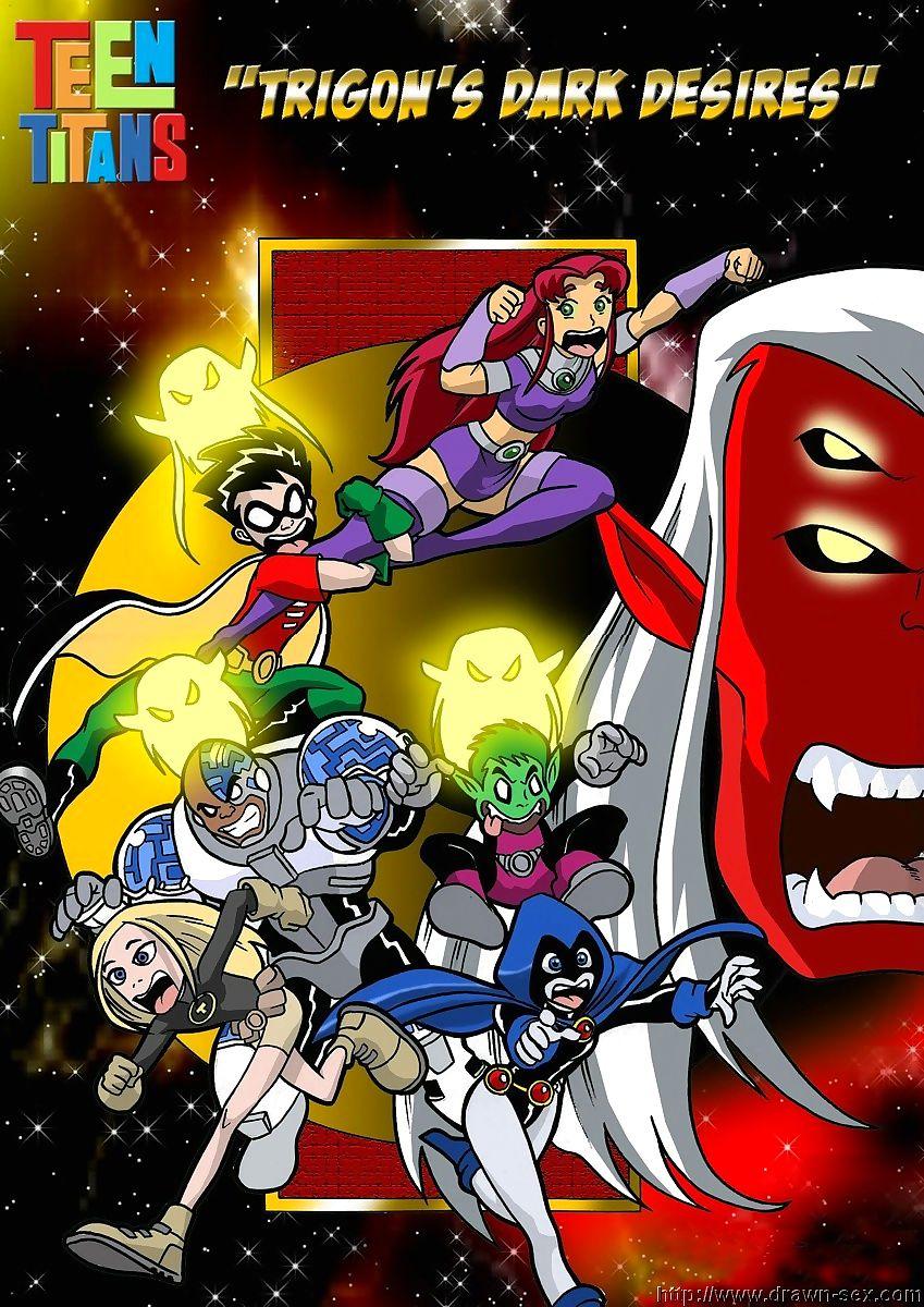 Teen Titans- Trigon's Coloured Desires