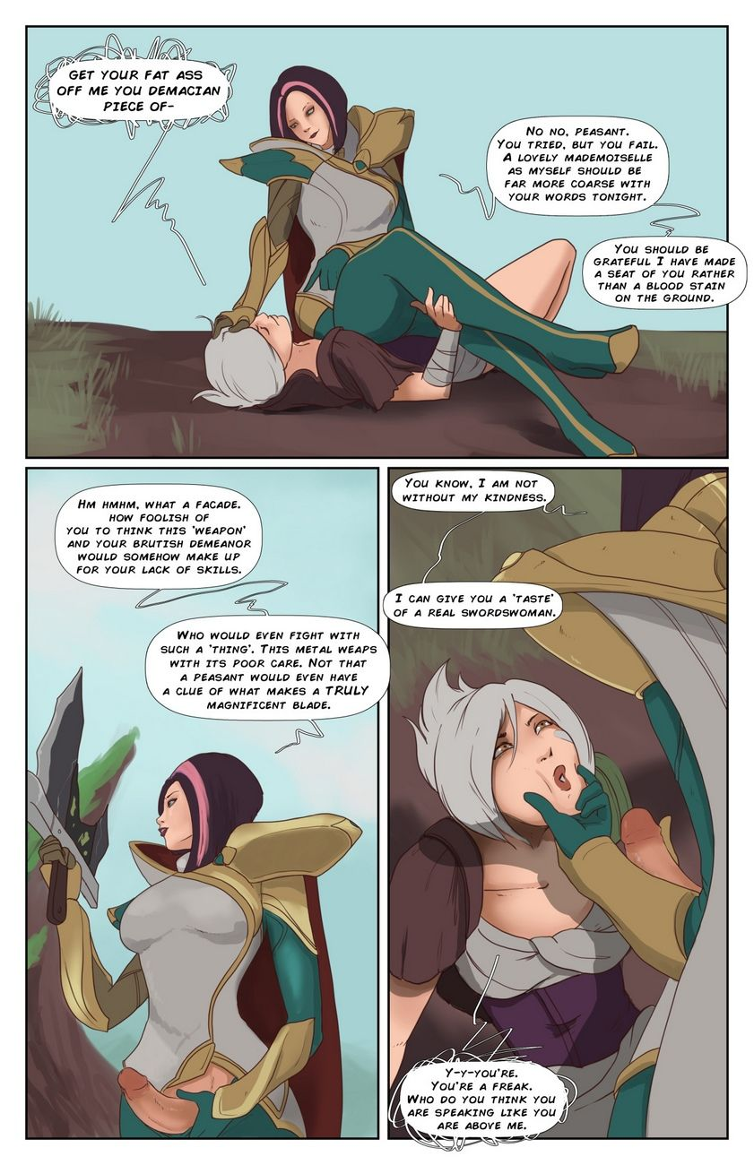 Riven With an increment of Fiora