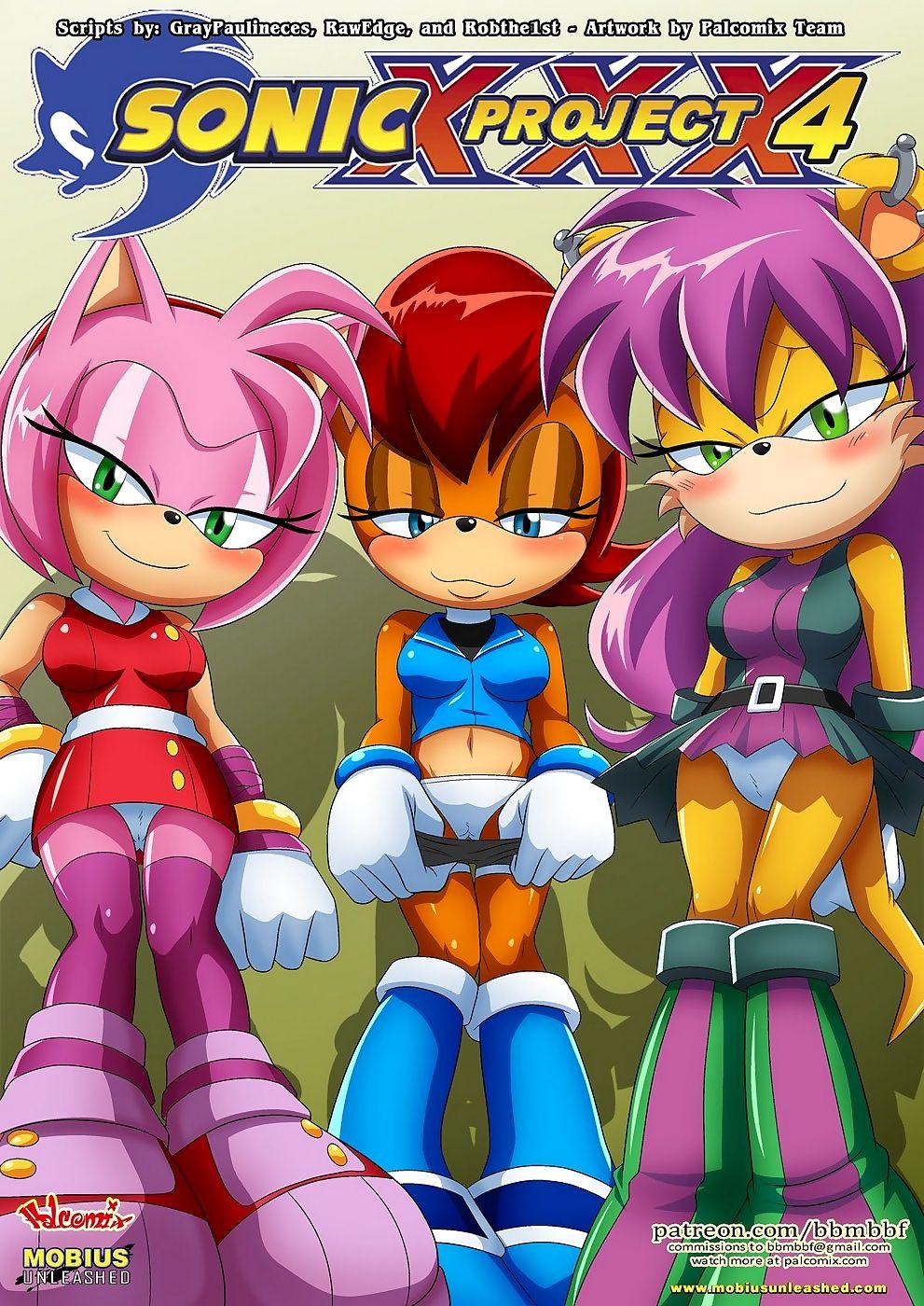 Palcomix- Sonic Venture XXX 4