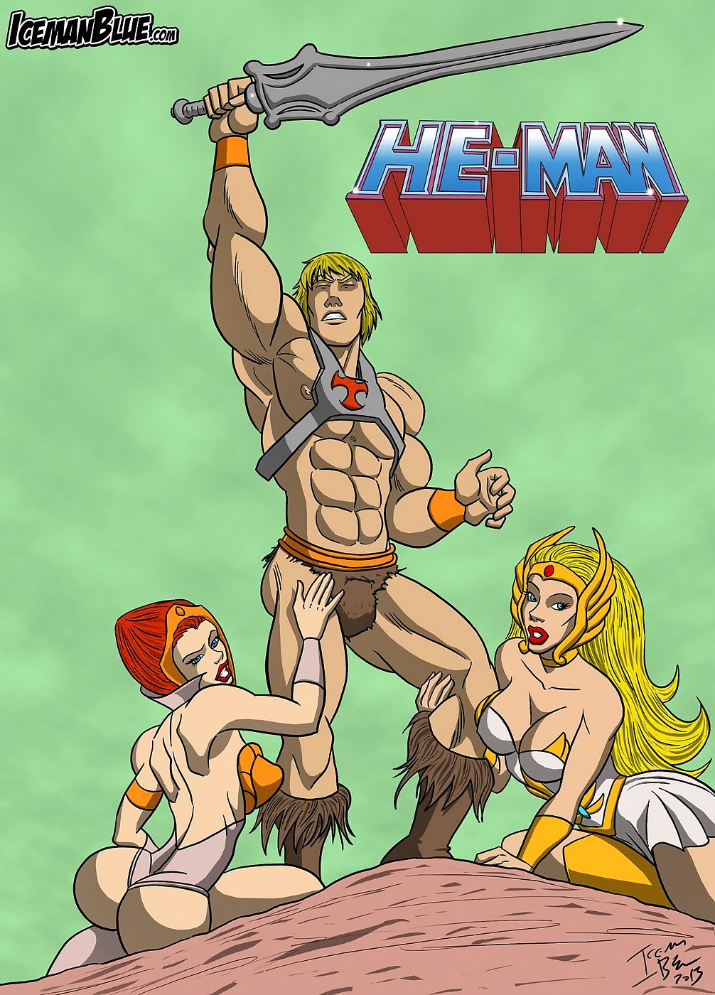 He-Man-Masters be proper of a difficulty Scenery