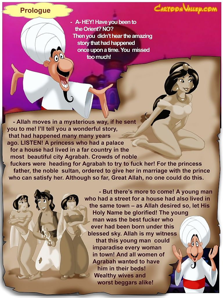 Aladdin- fucker outlander Agrabah