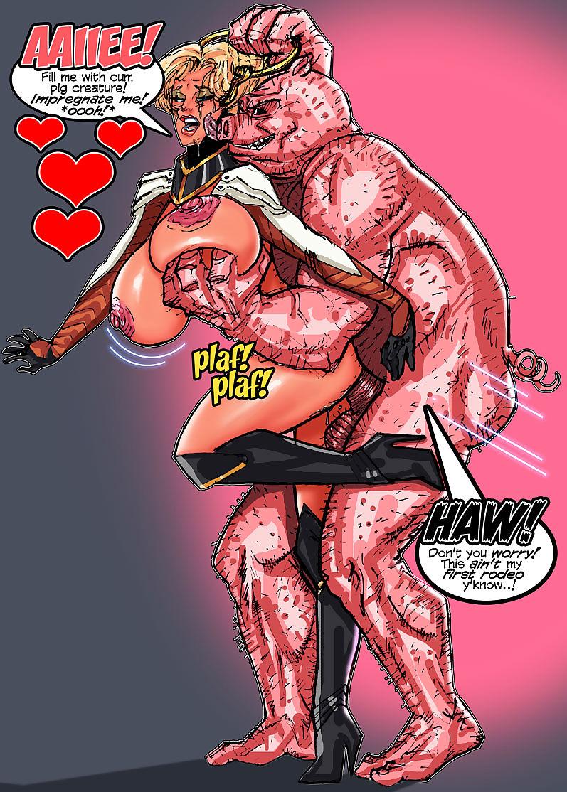 SuperPoser- Porkum Shows Itty-bitty Shrift