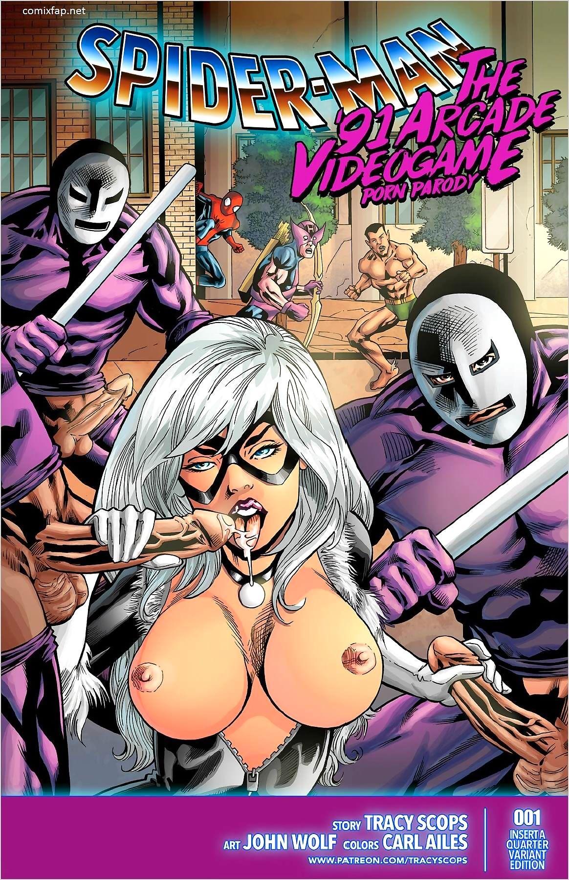 Tracy Scops- Spiderman, slay rub elbows with '91 arcade divertissement