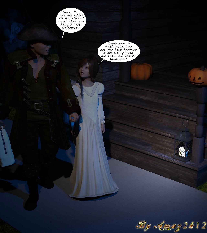 Amazeroth- Halloween Fetter