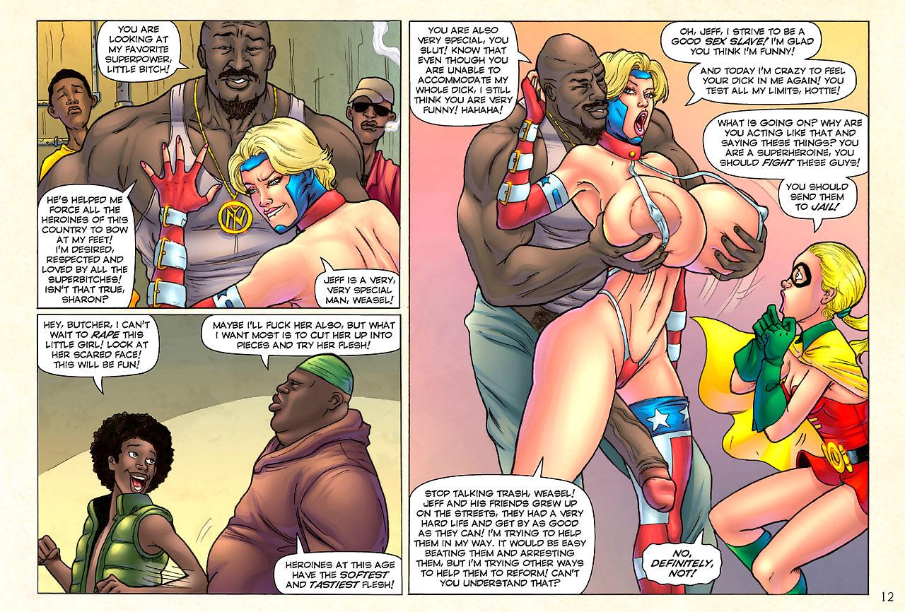 Superheroine Comixx- Pleasure Shoo-fly Begins..?