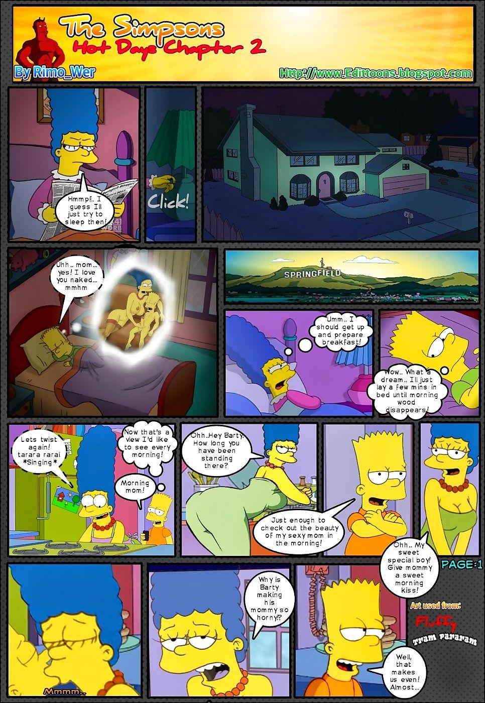 Simpsons Hot Generation scene 2