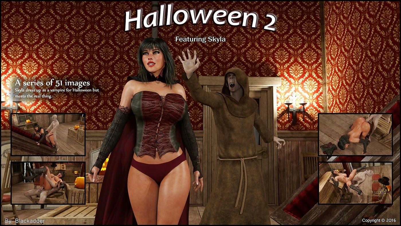 Blackadder- Halloween 2,3D sexual relations