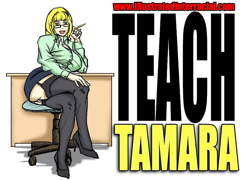 Reintroduce Tamara- illustrated interracial