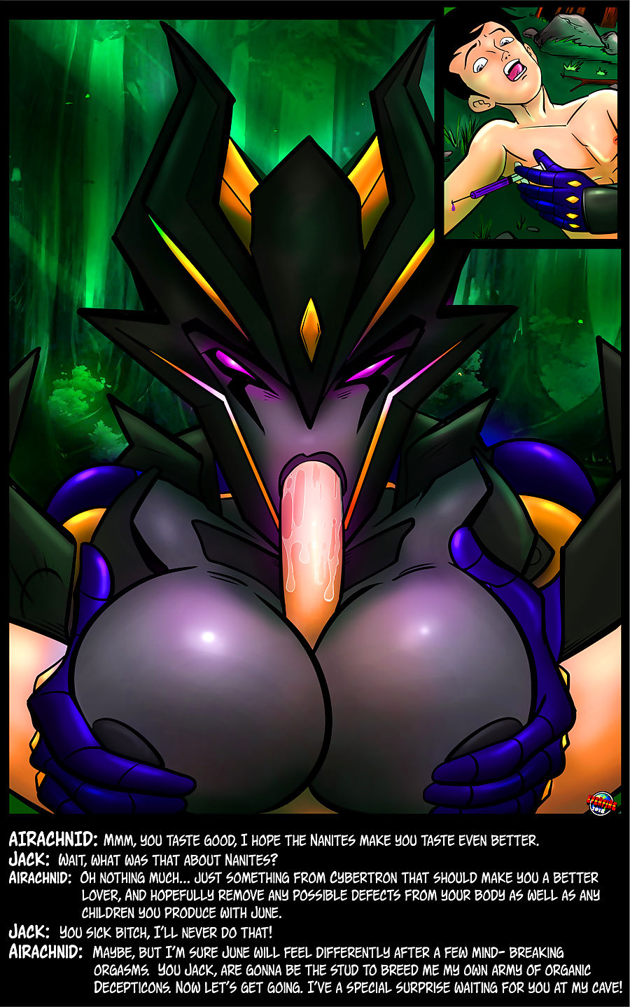 Everfire- Transformers Sly Insemination