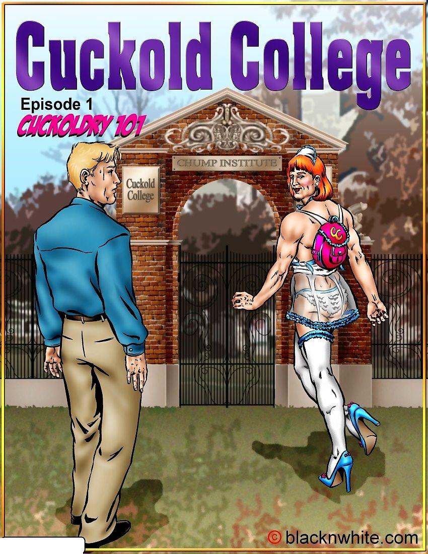 Cuckold Academy 1 & 2- BlacknWhite