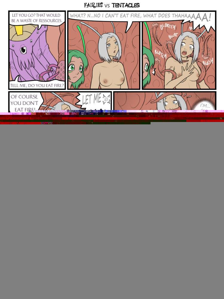 Fairies vs Tentacles Ch. 1-3 - affixing 3