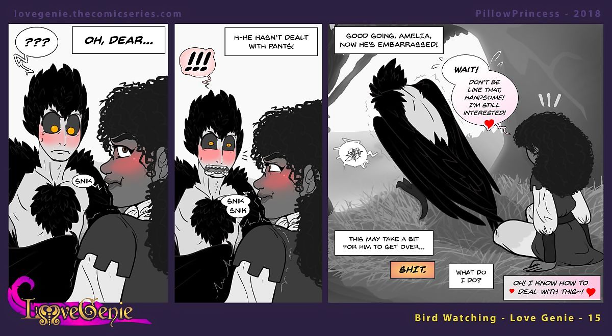 Have a crush on Genie Web-Comic Manacle - - decoration 4