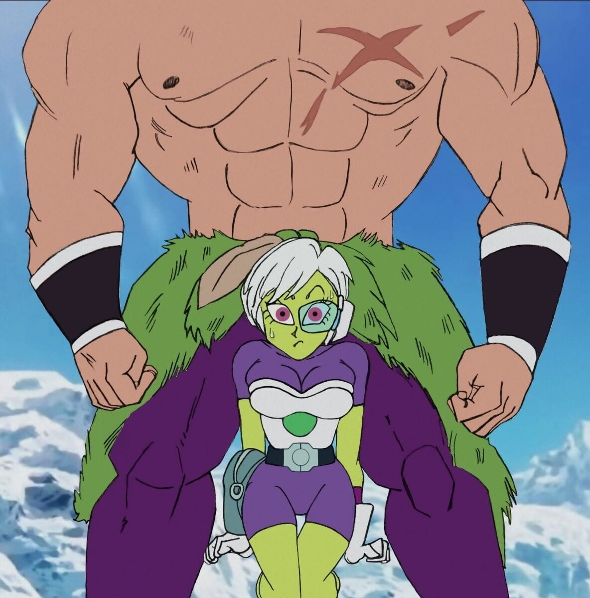 Broly x Cheelai: Say thank you You! - decoration 2