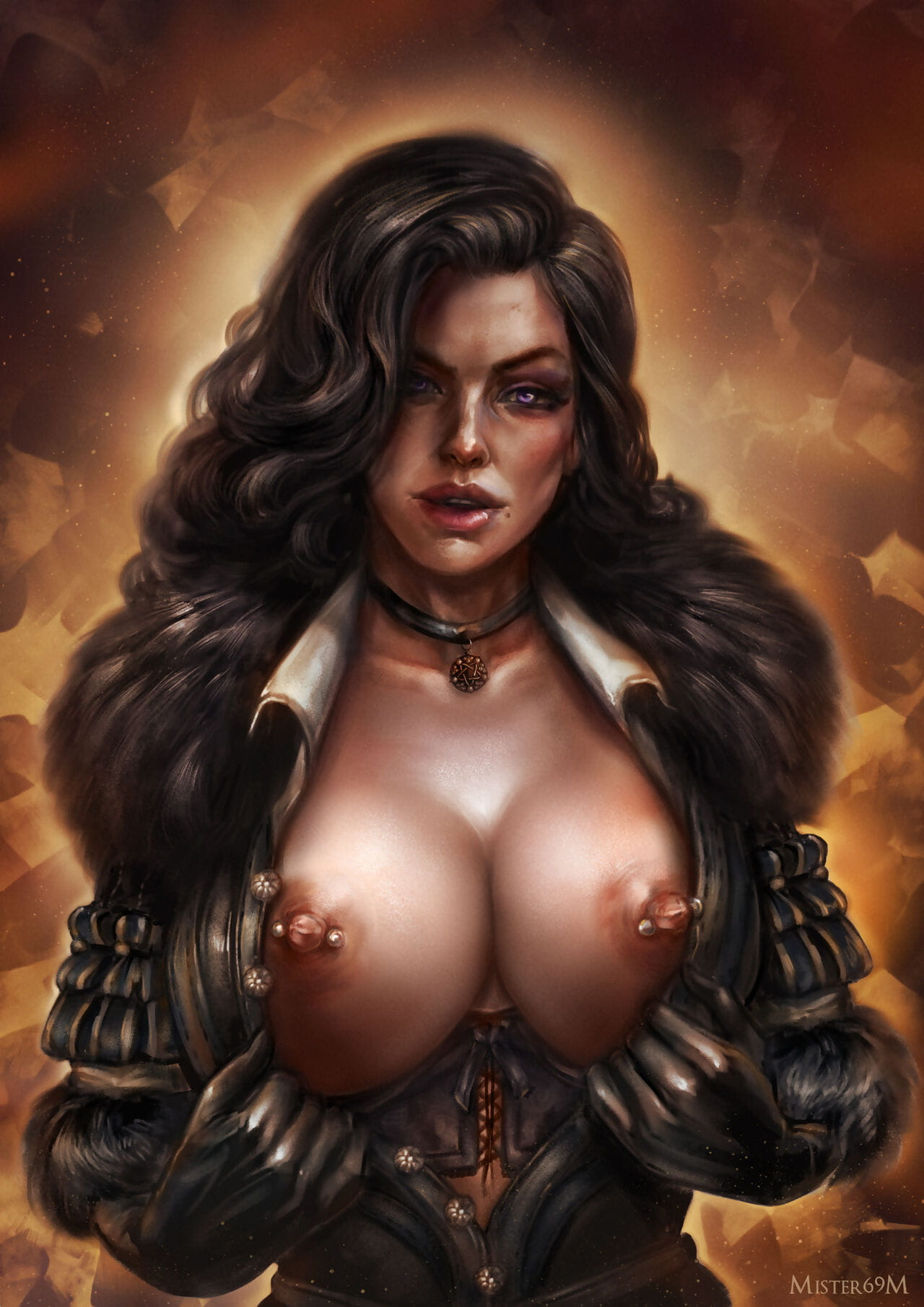 Yennefer be expeditious for Vengerberg - fastening 4