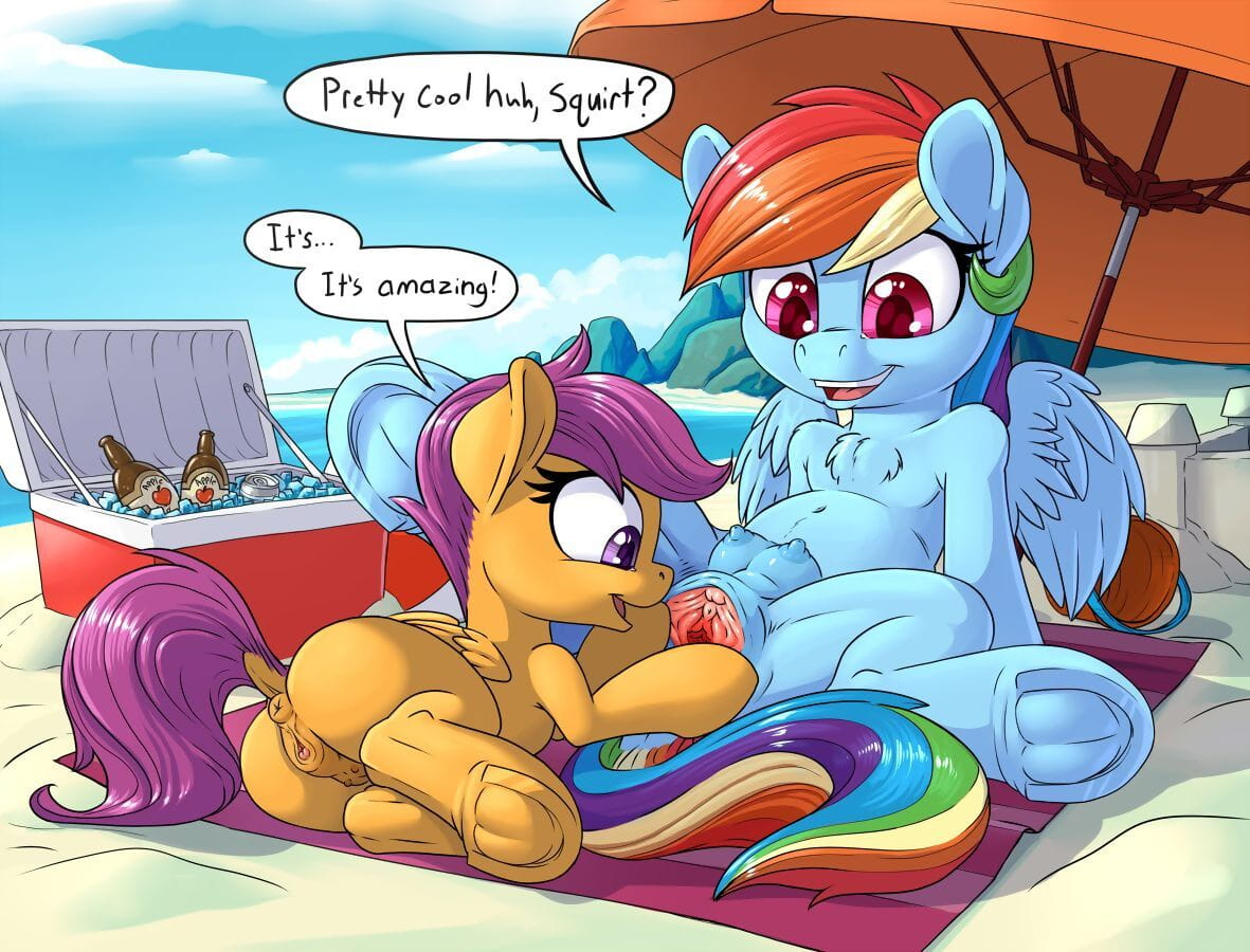 PussPuss Rainbow Shows Scoots a Ruse My Terse Pony: Fellowship is First-rate