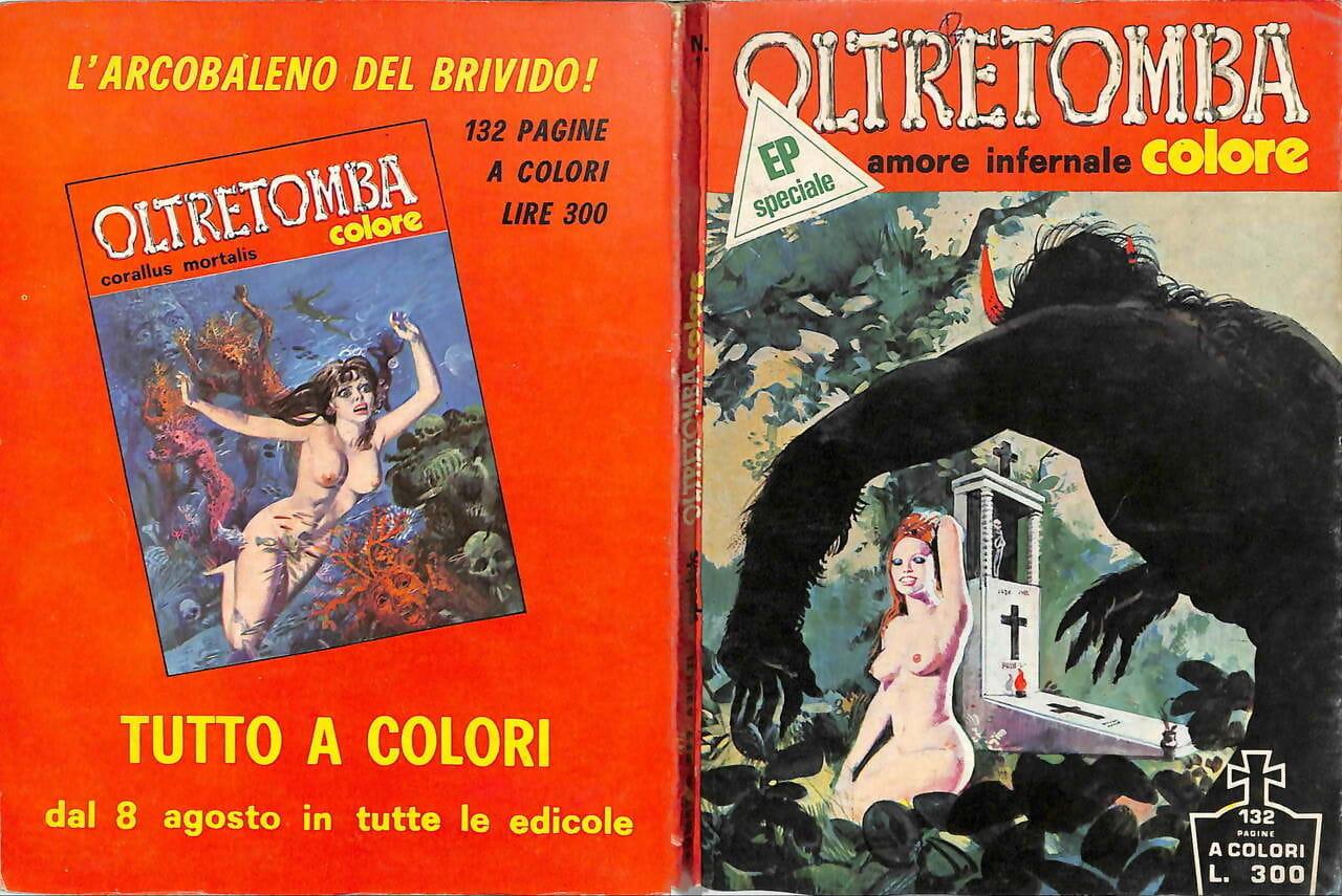 Oltretomba Colore Speciale Supplemento #8 Italian