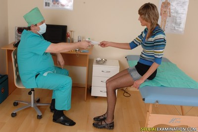 Medical interrogation in doctors office