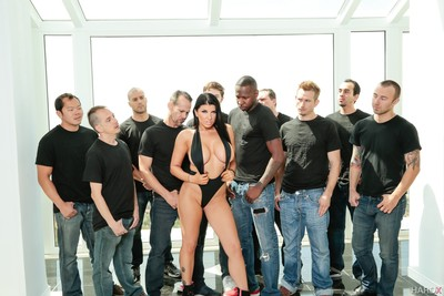 Romi rain 10 gentleman hard facial