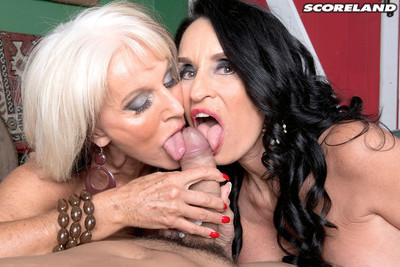 Rita daniels and sally dangelo cult a thick jock in the stabl