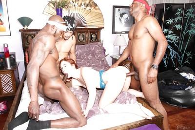 Interracial fuckfest act with groupsex adorer Jodi Taylor