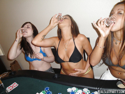 Nubiles Natasha and Nella remove clothes bikini at the get-together to benefits from owned