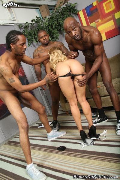 blacks on blondes eager 74