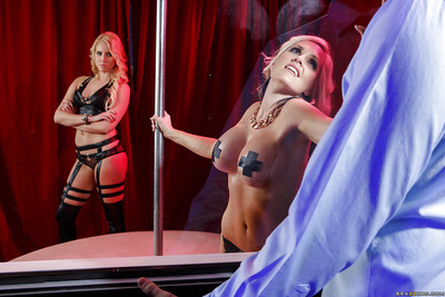 Devote lesbo games with sweaty babes named Alena Croft and Vanessa Cage