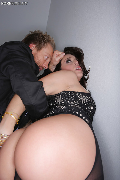 Fixation scene features infant chicito Gracie Glam in wild pipe