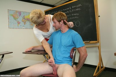 Placid Cock stroking from Pretty Wife Tracy