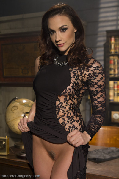Welcome backwards the devastating beauty, chanel preston to hardcore gangbang! in thi